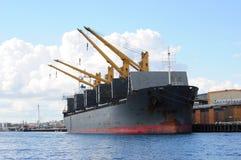 Ship docked inFremantle Harbour Port Perth Western Australia Stock Images