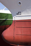 Ship In Drydock Abstract Royalty Free Stock Images