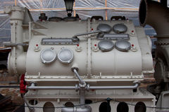 A ship engine Royalty Free Stock Photos