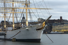 ship för af-gårdfarihandlaresegling royaltyfri bild