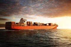 ship för aktivitetslasthamburg port royaltyfri fotografi