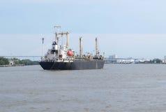 ship för aktivitetslasthamburg port Arkivbild