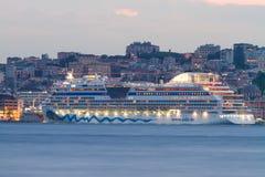ship för costakryssningluminosa Arkivfoto