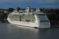 ship för costakryssningluminosa Fotografering för Bildbyråer