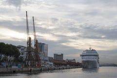 ship för costakryssningluminosa Arkivbild