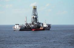ship för drill 3 Royaltyfri Bild