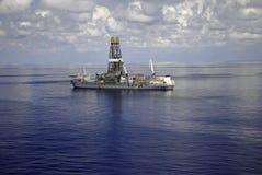 ship för drill 5 Arkivfoto