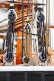 ship för rigging s Arkivbilder