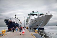 ship för kryssning s Royaltyfri Bild