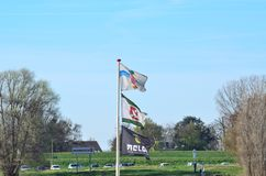 Ship flag Stock Image