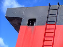 Ship Funnel (Calmac Ferry) Royalty Free Stock Images