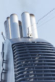 Ship funnel Stock Images