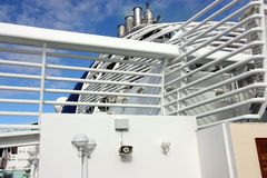 Ship funnels Stock Images
