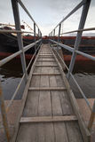 Ship gangway Royalty Free Stock Photography