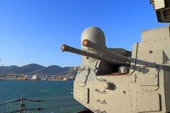 Ship guns Stock Photos