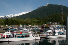 Ship Harbor in Ketchikan, Alaska Stock Photography