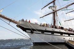 Ship In Havana Harbor Royalty Free Stock Photos