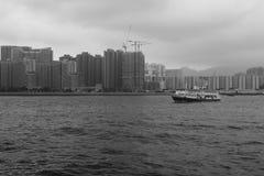 Ship of hong kong ferry terminal Stock Image