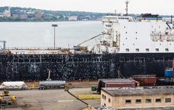 Ship Hull Repair Royalty Free Stock Image