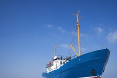 Ship I. Fishing ship Stock Image