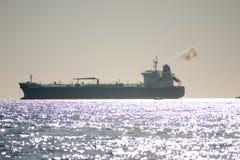 Ship i porten Fotografering för Bildbyråer