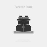 Ship icon Royalty Free Stock Photo