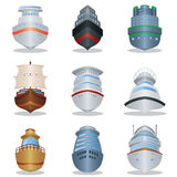 Ship icons Royalty Free Stock Photo