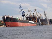 Ship In Port Stock Photography