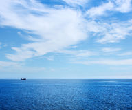 Ship In Sea Royalty Free Stock Photography