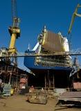 Ship In The Dock Stock Image