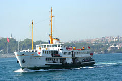 Ship in istanbul Royalty Free Stock Photos