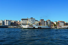 Ship in Istanbul Stock Photography