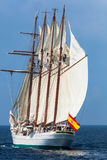 Ship Juan Sebastian de Elcano Stock Photos