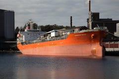 Ship in Karlshamn 2 Stock Images