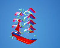 Ship Kite Stock Images