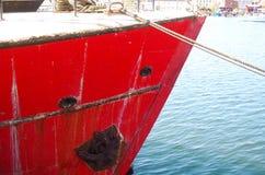 ship& x27; lado de s, detalle Fotografía de archivo