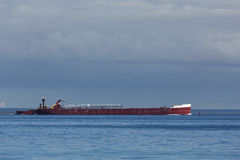 Ship On Lake Huron Royalty Free Stock Images