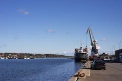 Ship loader scrap Stock Image