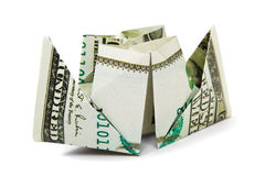 Ship made of money Stock Photos