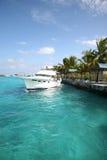 Ship in the Maldives royalty free stock photos