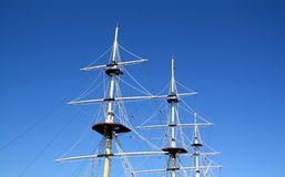 Ship mast Royalty Free Stock Image