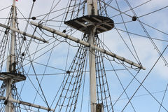 Ship mast. Royalty Free Stock Photography