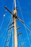 Ship mast Stock Images