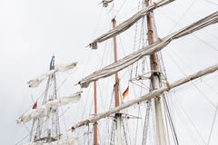 Ship Mast Royalty Free Stock Images