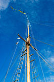 Ship mast Stock Image