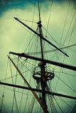 Ship mast vintage Stock Photography
