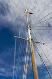 Ship mast Royalty Free Stock Photos