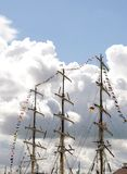 Ship Masts Stock Images