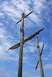 Ship Masts Stock Image