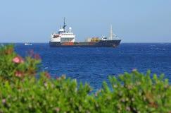 Ship in Mediterranean sea Stock Photos